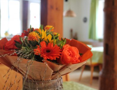 Frühstücksraum Blumen Highlight